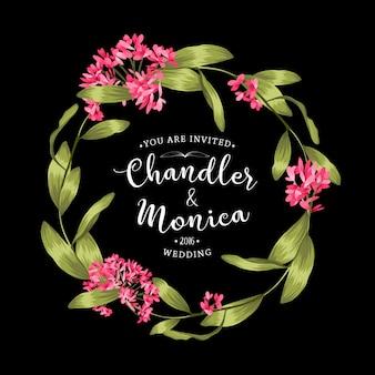 Mooie bloemenachtergrond. element voor ontwerp of uitnodigingskaart