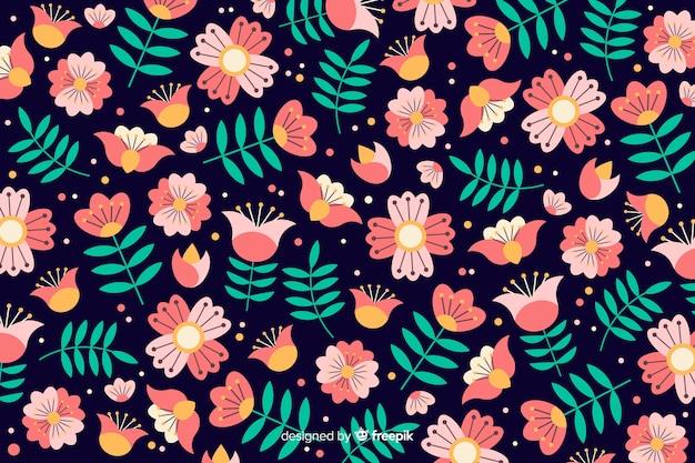 Mooie bloemenachtergrond