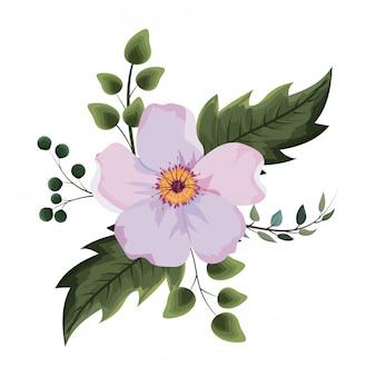 Mooie bloementekening