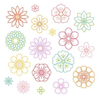 Mooie bloemenvector