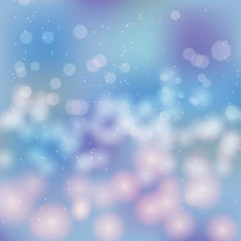 Mooie bokeh abstracte achtergrond