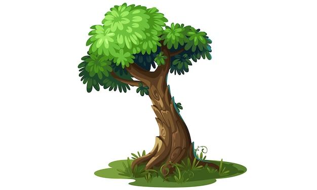 Mooie boom vectorillustratie
