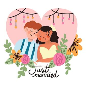 Mooie bruidsparen