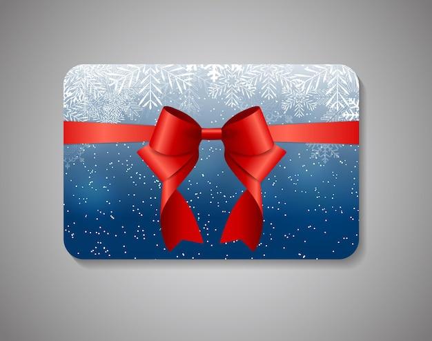 Mooie cadeaukaart. vectorillustratie