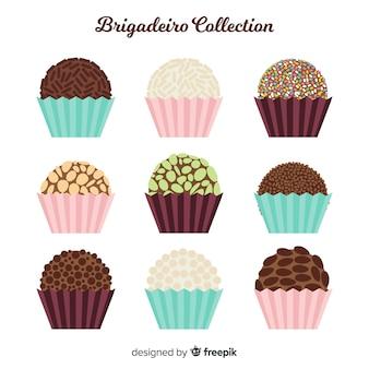 Mooie collectie van brigadeiro
