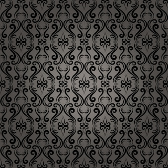 Mooie damast barokke naadloze patroon achtergrond voor behang in webpagina's