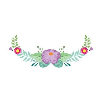 Mooie decoratie bloemen
