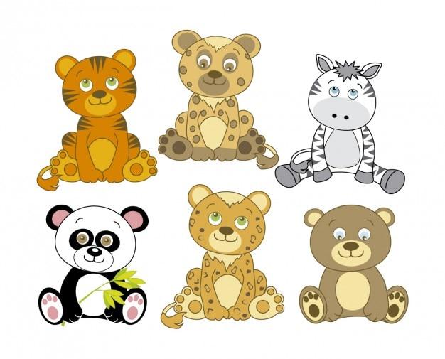 Mooie dieren cartoon
