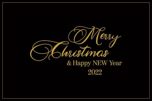 Mooie elegante en moderne merry christmas vector achtergrond gelukkig nieuwjaar