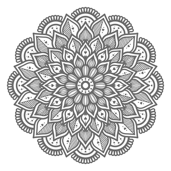 Mooie en mooie mandala illustratie voor abstract en decoratief concept
