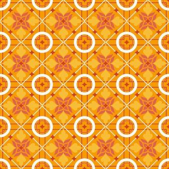 Mooie gele tegels