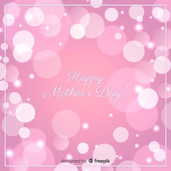 Mooie gelukkige moeders dag wenskaart
