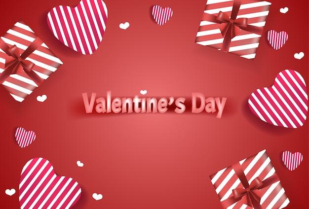 Mooie gelukkige valentijnsdag