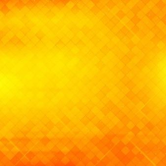 Mooie geometrische geel en oranje achtergrond