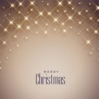 Mooie glanzende achtergrond voor vrolijke kerstmis