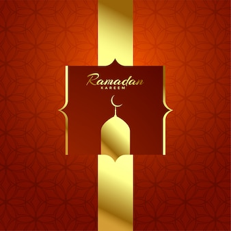 Mooie glanzende ramadan kareem festival achtergrond
