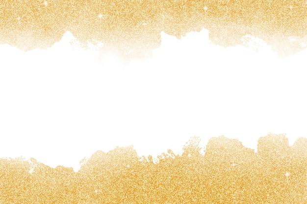 Mooie gouden glitter