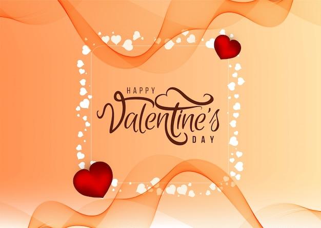 Mooie happy valentine's day liefde achtergrond