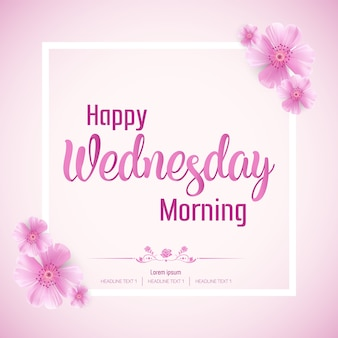 Mooie happy wednesday morning