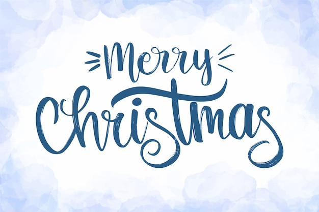 Mooie kerst belettering