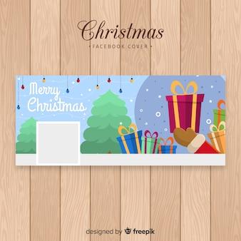 Mooie kerst facebook banner