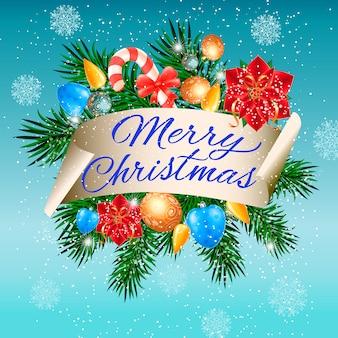 Mooie kerst inscriptie