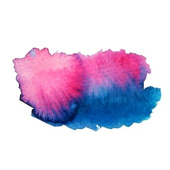 Mooie kleurovergang moderne aquarel