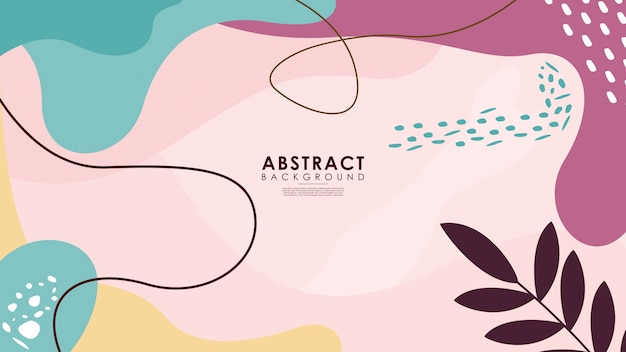 Mooie kleurrijke abstract floral achtergrond