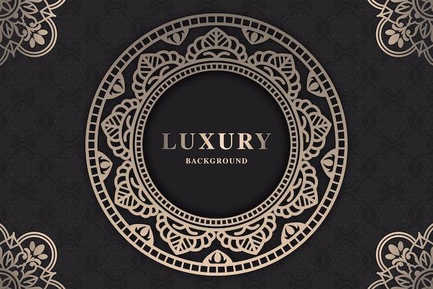 Mooie luxe mandala-screensaver