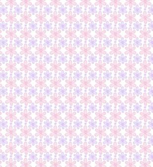 Mooie naadloze patronen met bloesems
