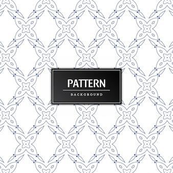Mooie naadloze patroon minimale achtergrond