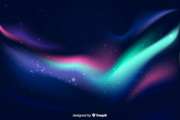 Mooie noorderlichtachtergrond