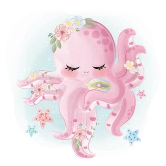 Mooie octopus