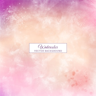 Mooie paarse handgemaakte pastel aquarel achtergrond