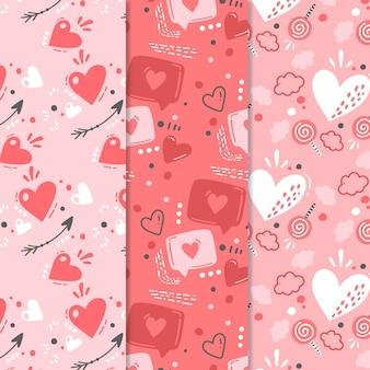 Mooie patrooncollectie voor valentijnsdag