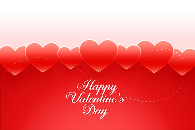 Mooie rode harten valentines dag