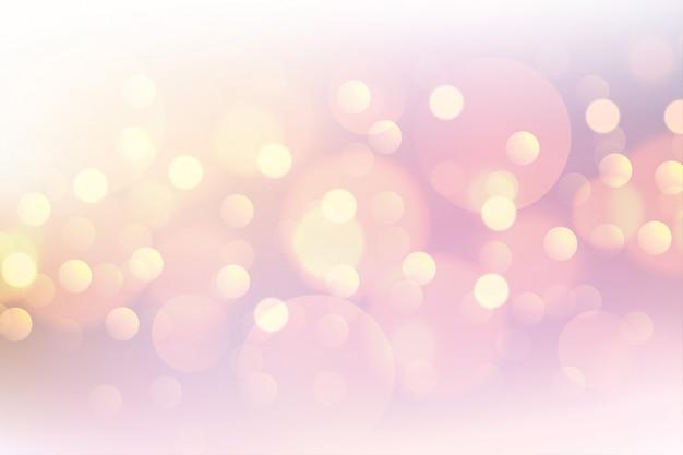 Mooie roze bokeh zachte vage achtergrond