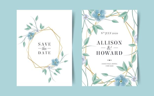 Mooie sjablonen voor bruiloft uitnodiging
