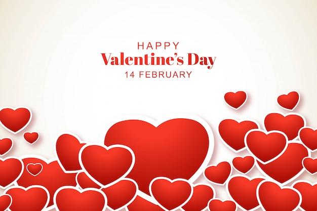 Mooie valentijnsdag achtergrond