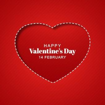Mooie valentijnsdag kaart