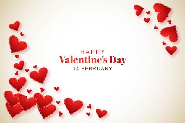 Mooie valentijnsdag uitnodiging achtergrond