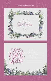 Mooie valentijnsdag wenskaarten