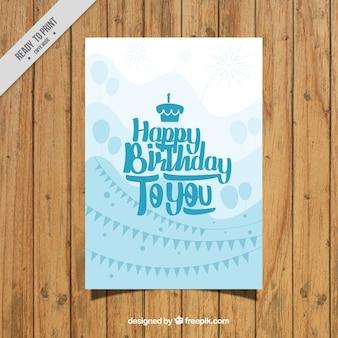 Mooie verjaardagskaart