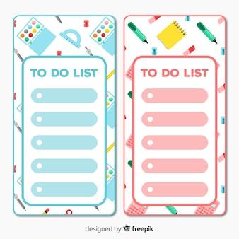 Mooie verzameling to do-lijsten