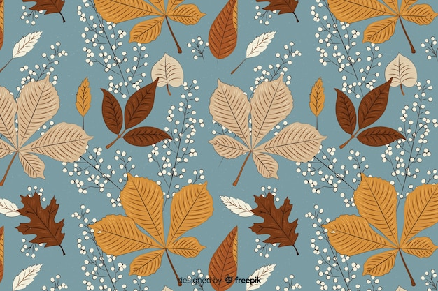 Mooie vintage herfst achtergrond