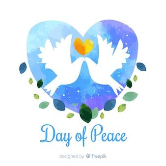Mooie vrede dag achtergrond