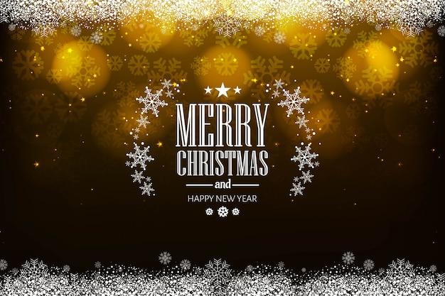 Mooie vrolijke van het kerstmisfestival vector als achtergrond