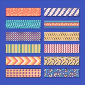 Mooie washi-tapes set