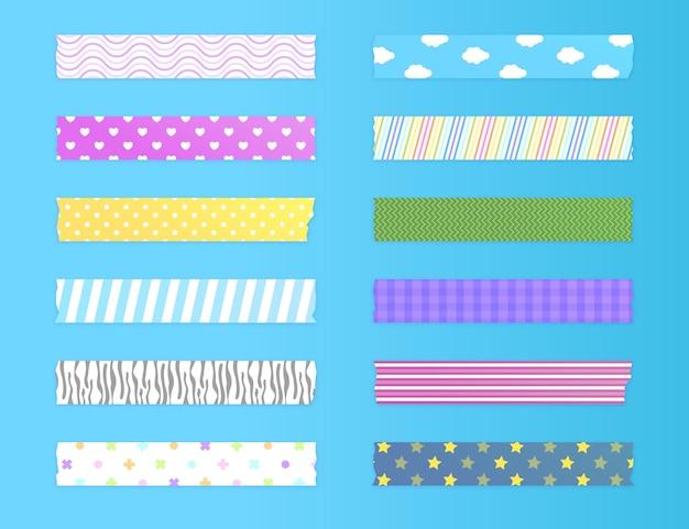 Mooie washi-tapes-verpakking
