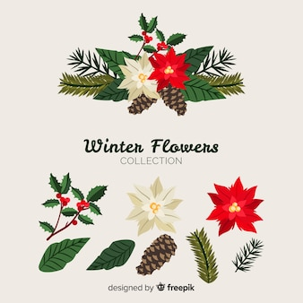 Mooie winterbloemen collectie